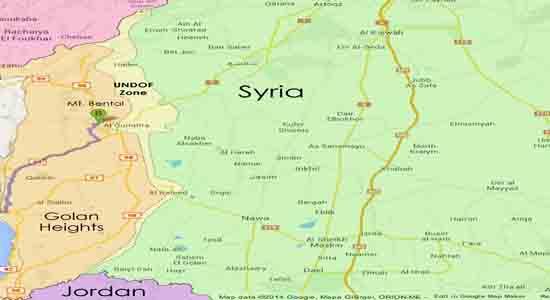 کلید طلایی آزادسازی کوهستانهای جنوب سوریه در دستان سپاه ویژه آزادسازی جولان + نقشه و تصاویر