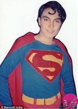 23 عمل جراحی برای شبیه شدن به سوپرمن +تصاویر