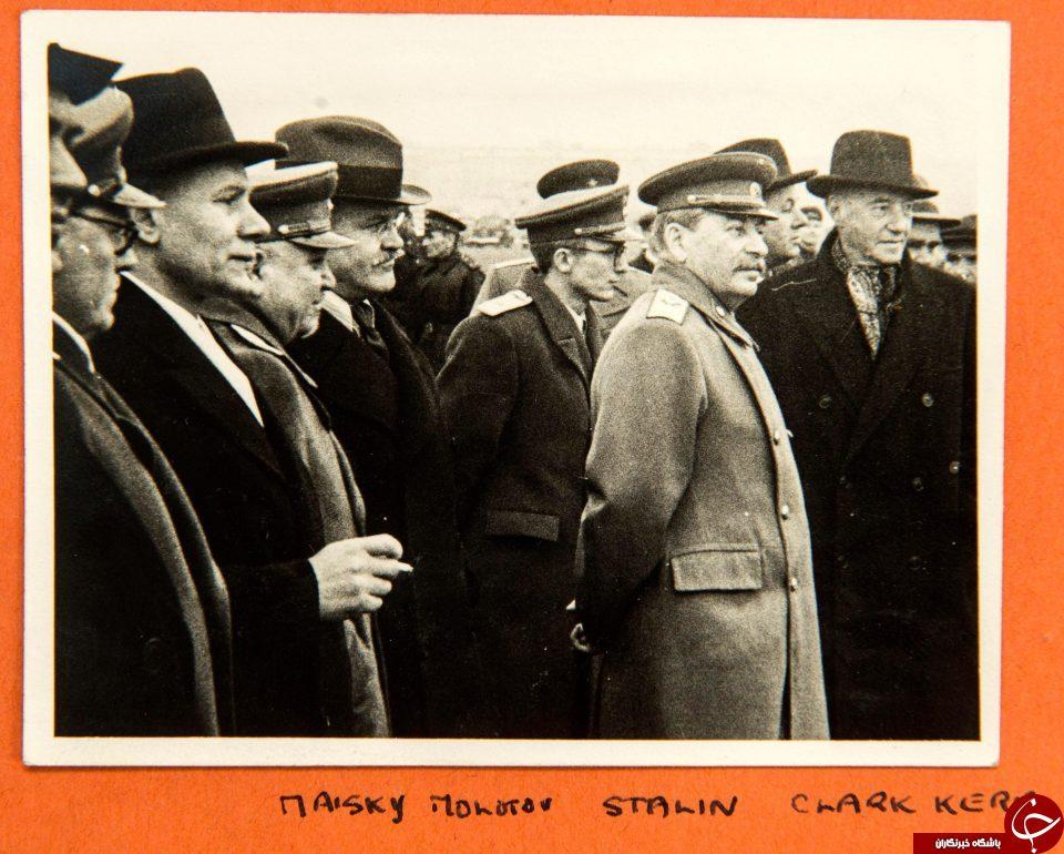 تصاویری دیده نشده از رهبران جنگ جهانی دوم