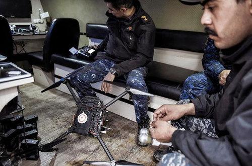 جنگ پهپادهای مسلح با داعش +تصاویر