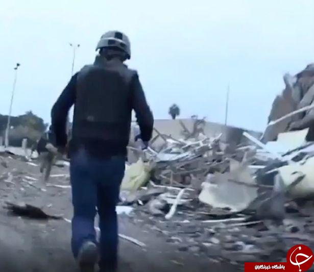 نجات معجزه آسای سه خبرنگار از عملیات انتحاری داعش