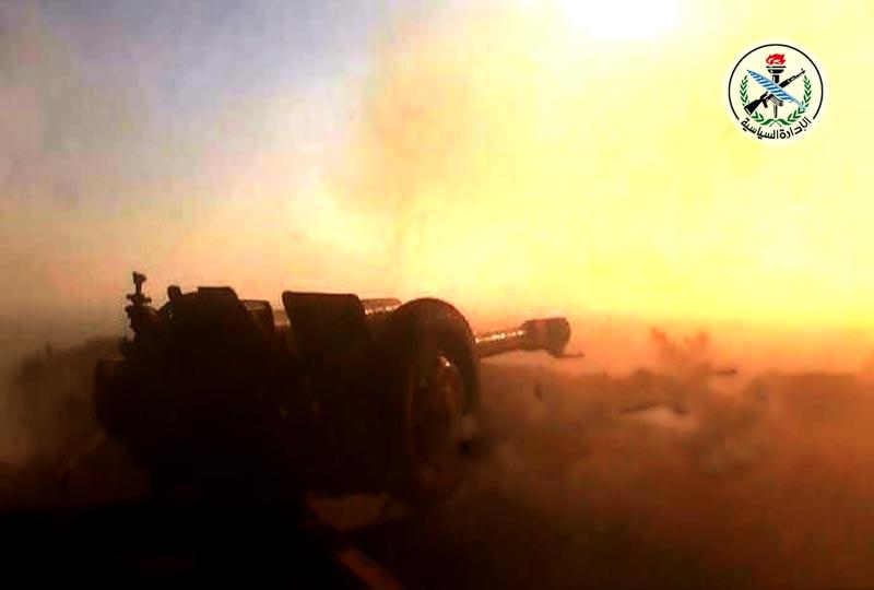 انهدام قایق نفوذی داعش دربستر رودخانه «البغیلیة»/ هلاکت تروریستی که در اعدام باستانشناسان سوری مشارکت داشت + تصاویر