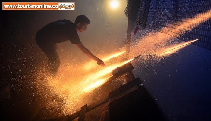 فستیوال آتش بازی در سرتاسر دنیا +تصاویر