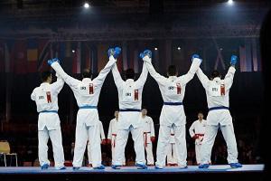 کاراته کاهای کشورمان برای کسب نشان برنز بر روی تاتامی می روند