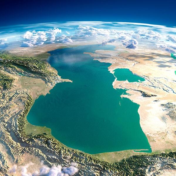 عکس خارقالعاده فضایی از دریای خزر