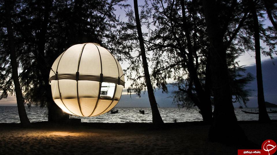 لوکس ترین چادرهای مسافرتی با امکانات هتل 5 ستاره+تصاویر