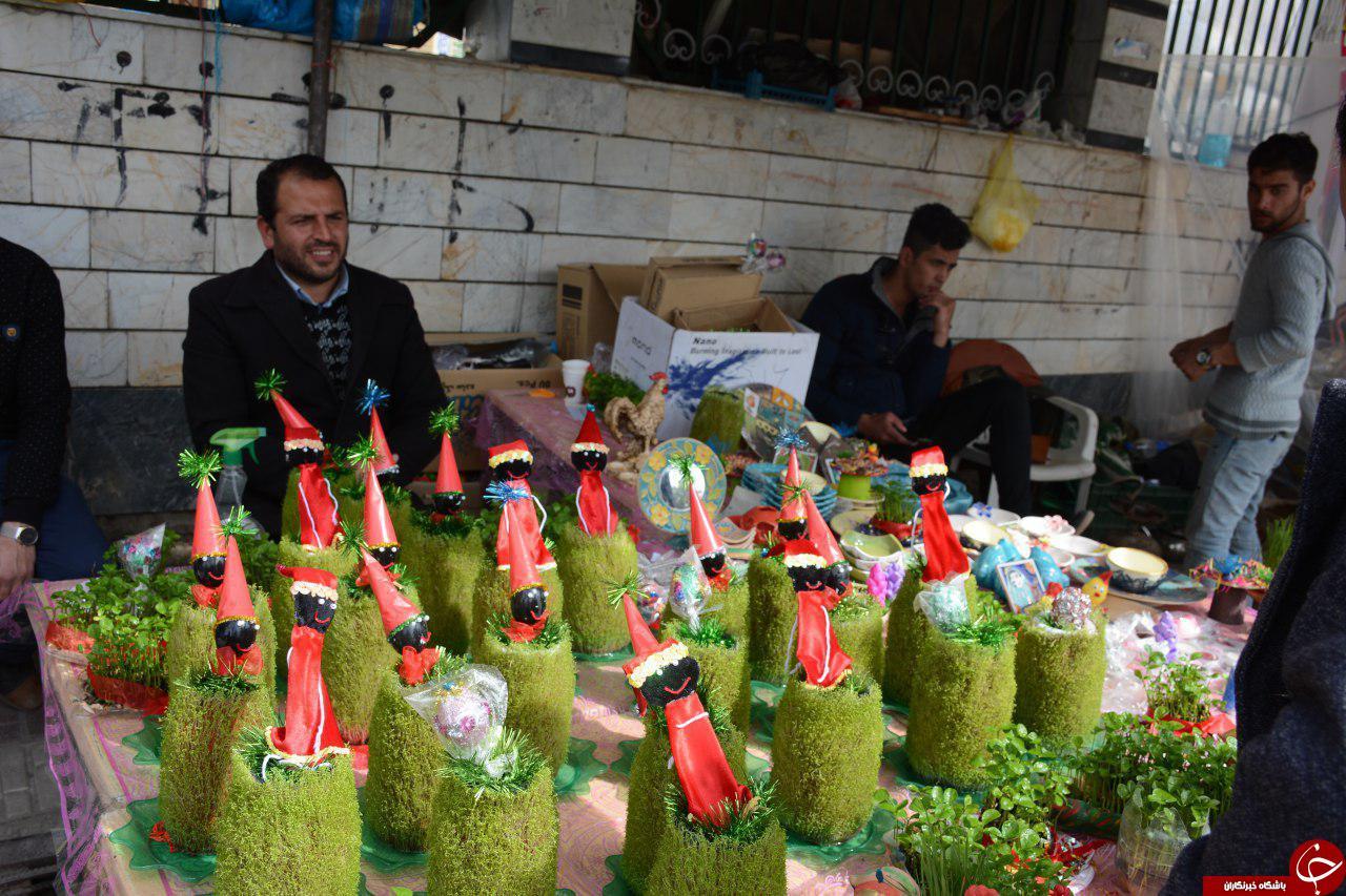 حال و هوای عید نوروز در شهرستان کردکوی/ تصاویر