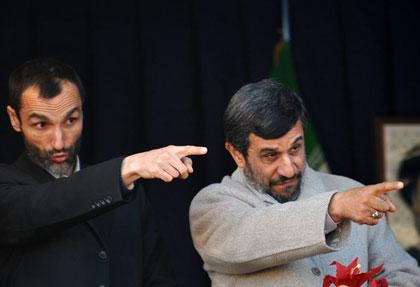 پیام انتخاباتی احمدی نژاد برای بقایی