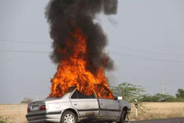 مرگ دلخراش سرنشینان خودرو پژو در محور چابهار