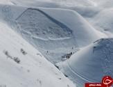 باشگاه خبرنگاران -دیوار یخ اسکیبازان را در خود بلعید +تصاویر