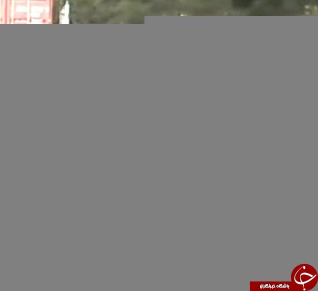 باشگاه خبرنگاران -لحظهای که موتورسوار از جاده غافل شد +تصاویر