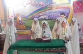 باشگاه خبرنگاران - جشن عبادت ۱۶۰ دانش آموز دختر بلداجی