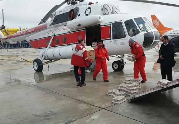 باشگاه خبرنگاران -انجام 37 سورتی پرواز برای انتقال محموله امدادرسانی / تداوم امدادرسانی در 4 استان سیل زده