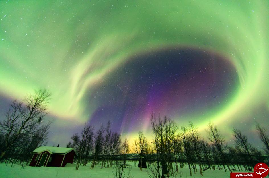 7 مکان جادویی با نورهای زیبا+تصاویر