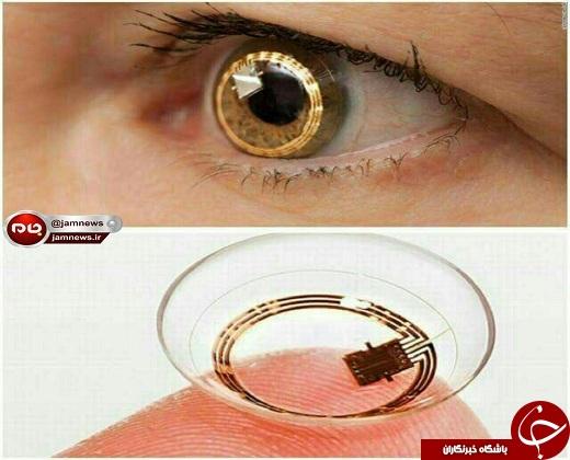 لنز چشمی که فیلمرداری می کند و عکس می گیرد!+عکس