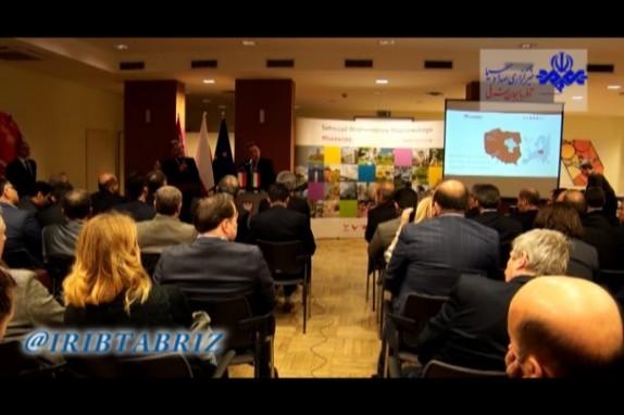 باشگاه خبرنگاران -همایش مشترک اقتصادی آذربایجان شرقی و لهستان