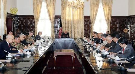 نخستین جلسه وزارت دولت در امور اصلاحات بخش امنیتی برگزار شد