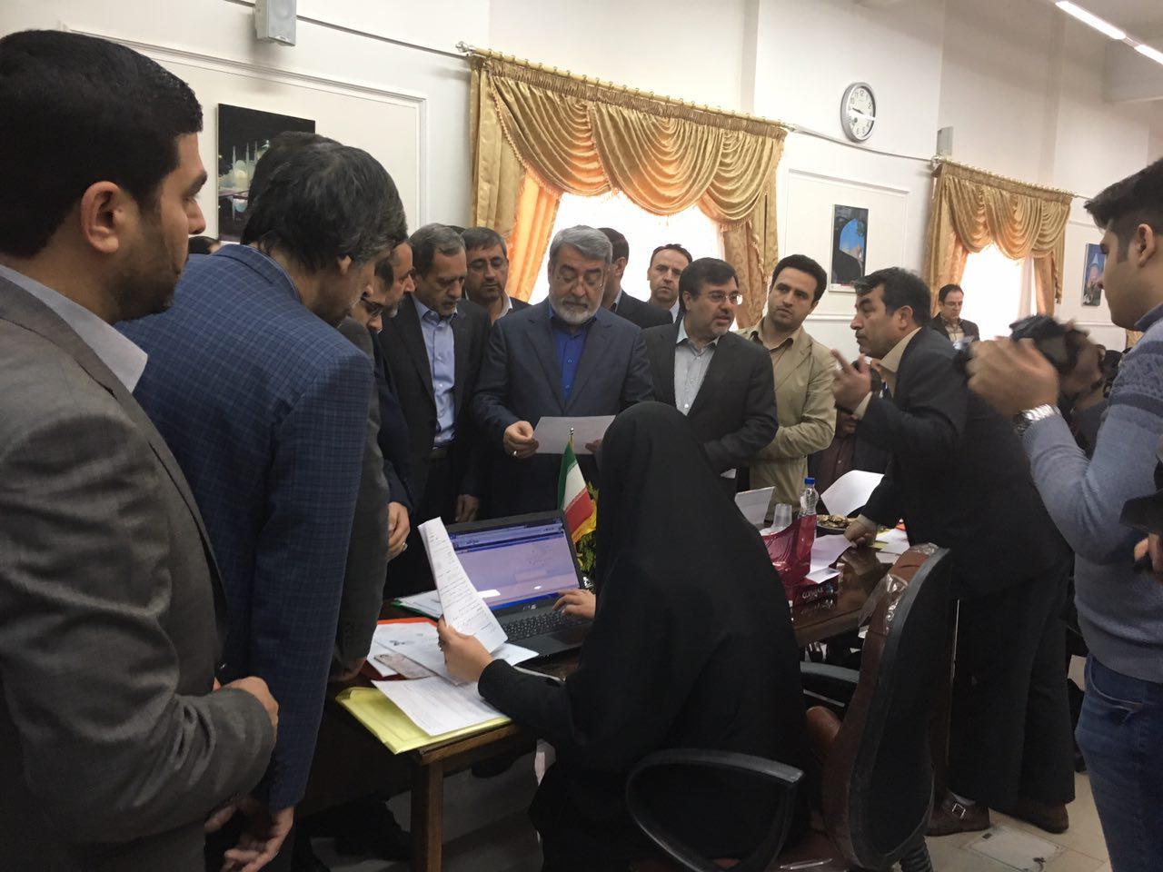 زنگ انتخابات با حضور وزیر کشور در قزوین نواخته شد