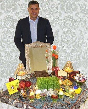 تبریک اینستاگرامی علی دایی به مناسبت نوروز