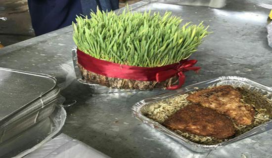 آیین مهرورزی به ایستگاه بهار رسید/سبزی پلو با ماهی با دستپخت بهبود یافتههای کارتنخواب