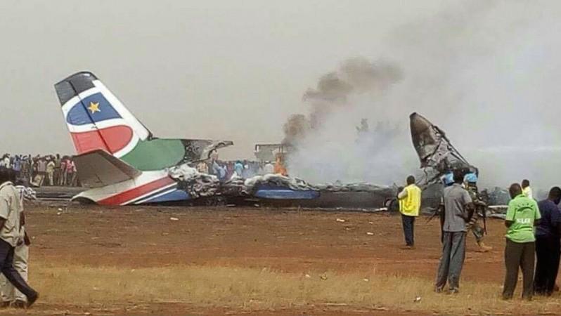 زخمی شدن 14 نفر در حادثه فرود هواپیمای مسافربری در سودان جنوبی