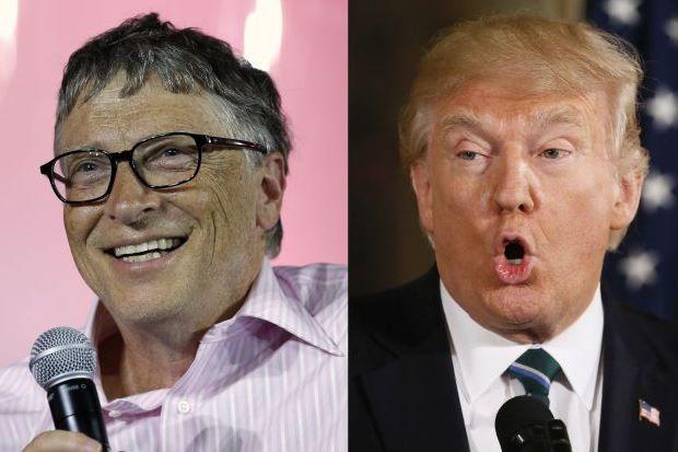 بیل گیتس یکبار دیگر بهعنوان ثروتمندترین مرد جهان انتخاب شد/سقوط 220 پلهای ترامپ در این ردهبندی
