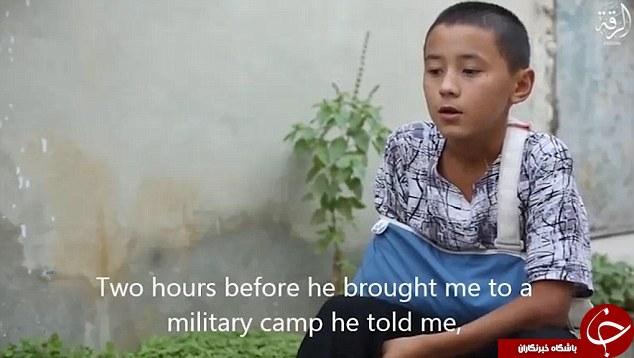 داعش یک کودک تروریست دیگر به دنیا آورد + فیلم