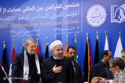 باشگاه خبرنگاران -اختتامیه ششمین کنفرانس حمایت از انتفاضه فلسطین ۲