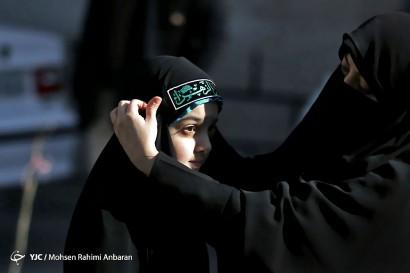 باشگاه خبرنگاران -راهپیمایی دانش آموزی درحمایت از حجاب فاطمی - مشهد