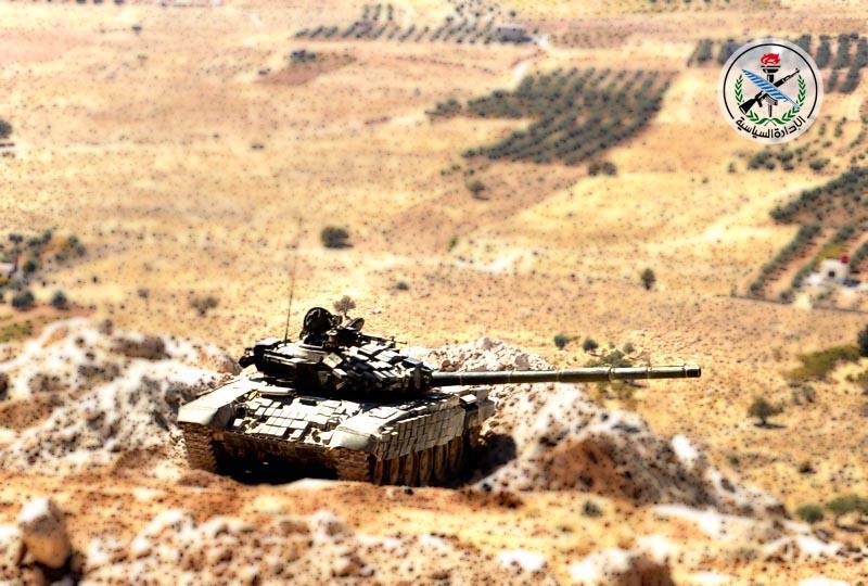 هلاکت مسئول دفتر اطلاعرسانی تروریستها در حماه/ داعش، اهتزاز پرچم فلسطین در یرموک را ممنوع اعلام کرد + تصاویر