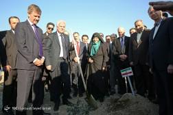 باشگاه خبرنگاران - مراسم کاشت درخت یادبود در باغ ملل