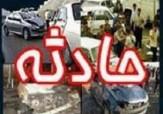 باشگاه خبرنگاران -واژگونی بار آهن نیسان روی خودرو پژو در بزرگراه نواب/ راننده پژو جان سالم به سر برد
