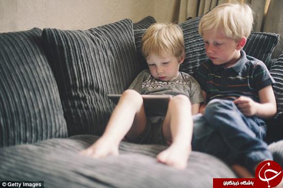 تکنولوژی مضر برای کودکان +تصاویر
