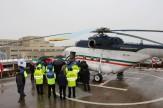 پروازی برای نجات 3 کوهنورد محصور در برف