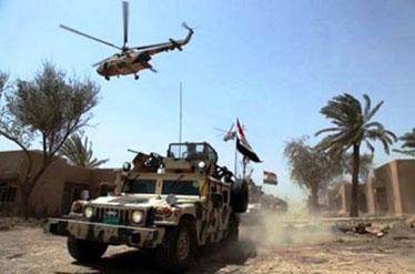 ناکام ماندن طرح شوم تروریستها در نزدیکی فرودگاه موصل