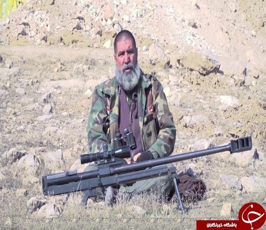 این تک تیراندازی به تنهایی بیش از ۳۰۰ داعشی را به هلاکت رساند +عکس