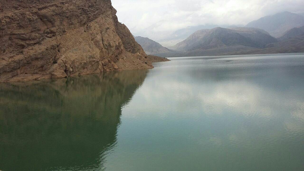 دریاچه سد جیرفت