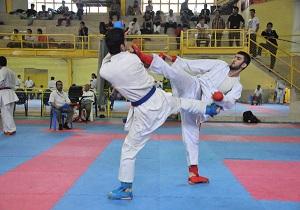 نایب قهرمانی کاراته کاهای استان در مسابقات کشوری