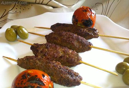 تهیه سه غذای معروف لبنانی، با دستور سرآشپز لبنانی