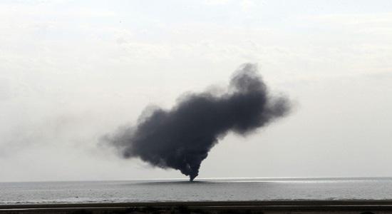 انهدام شناورها برای اولین بار با راکت هوشمند ایرانی + تصاویر
