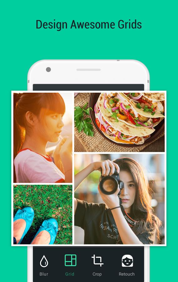 دانلود Photo Grid برای اندروید و ios / بهترین و کامل ترین نرم افزار کلاژ و ویرایش عکس