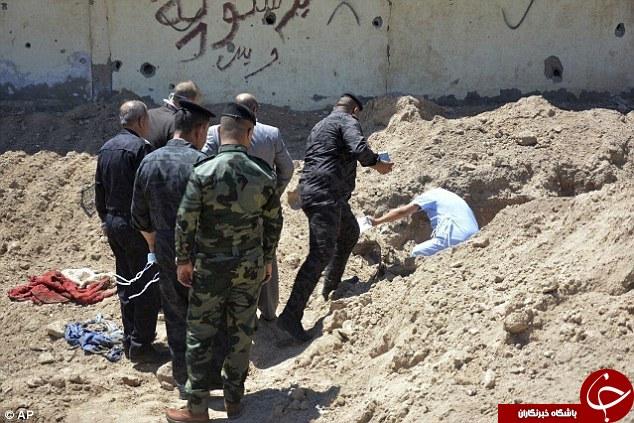 کشف گورستان جمعی کودکان و زنان کشته شده به دست داعش + تصاویر