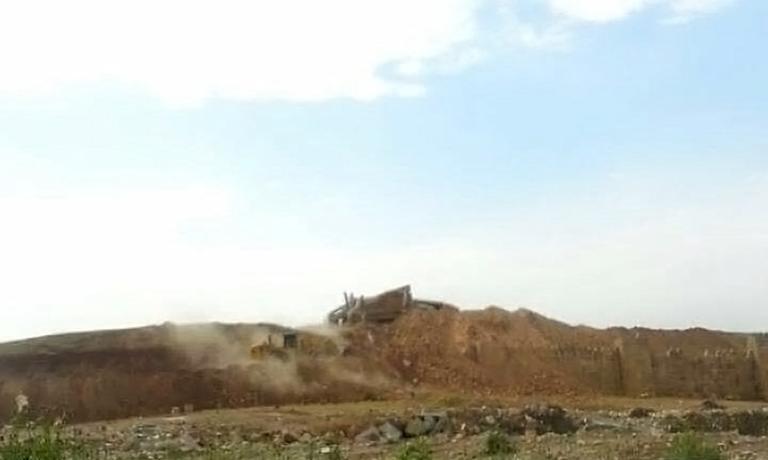 تصاویری دیدهنشده از تخریب دروازههای باستانی نینوا بوسیله داعش