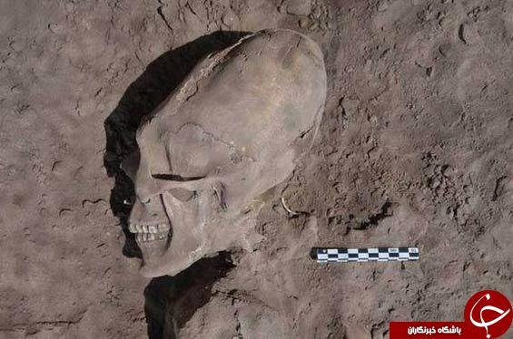 قبرستان آدم فضایی ها کشف شد+عکس