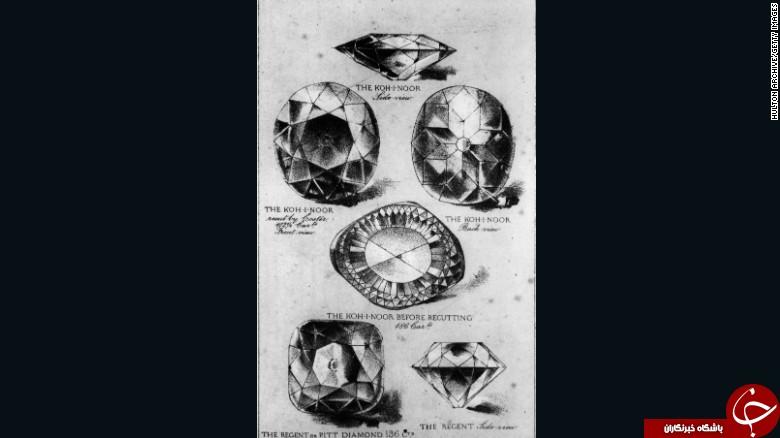 دعوای هند و انگلیس بر سر الماس کوه نور + تصاویر