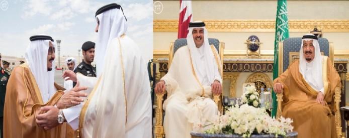 استقبال سرد سلمان از اوباما/پادشاه سرزمین شن ها، متحدان عرب را به دوست قدیمی خود ترجیح داد