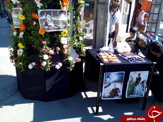 حجله مهرداد اولادی توسط دوستانش + تصاویر