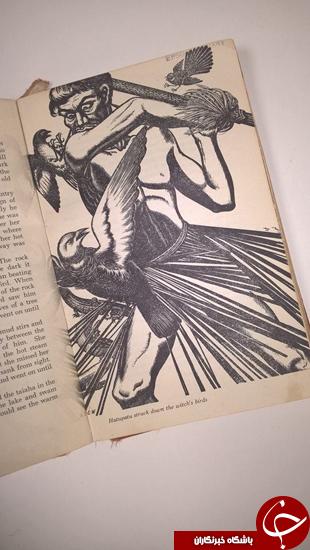 کتابی که پس از 67 سال به کتابخانه بازگردانده شد + تصاویر