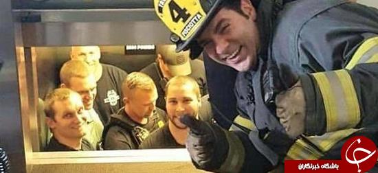 آتشنشانی 1 – پلیس 0 + عکس