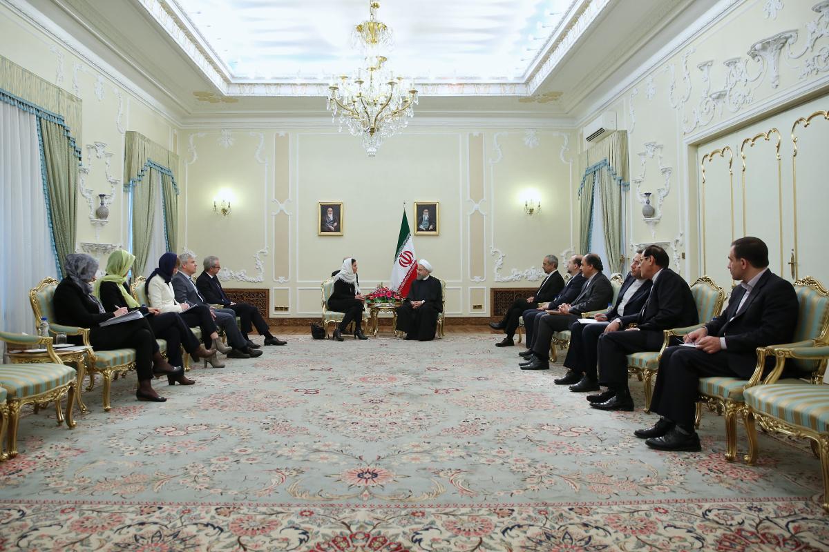 ایران آماده توسعه همکاریها با اتحادیه اروپا است/ برجام تنها با اجرای دقیق تعهدات مستحکم خواهد شد